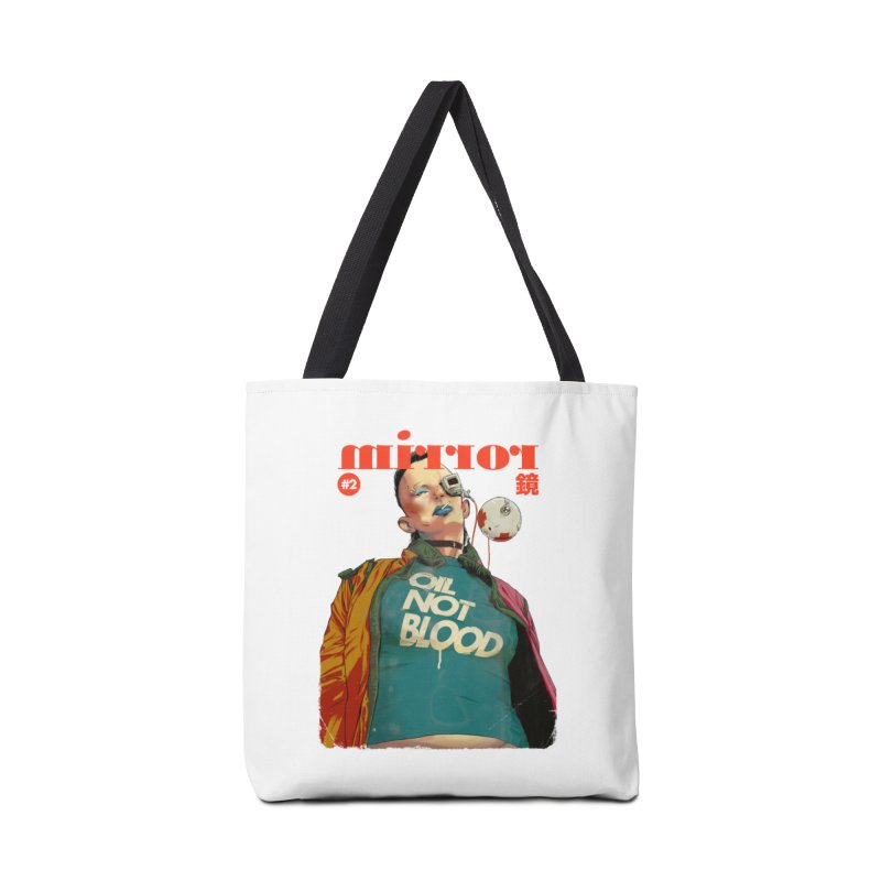 Mirror Issue 2 Accessories Tote Bag Bag by hafaell's Artist Shop