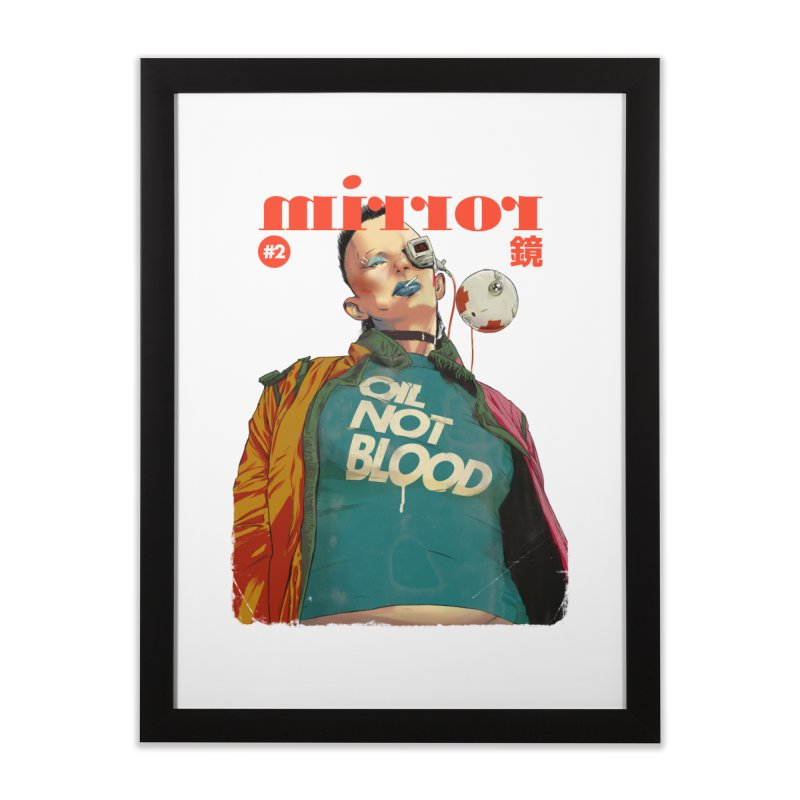 Mirror Issue 2   by hafaell's Artist Shop
