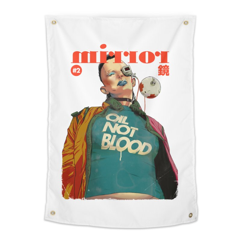 Mirror Issue 2 Home Tapestry by hafaell's Artist Shop
