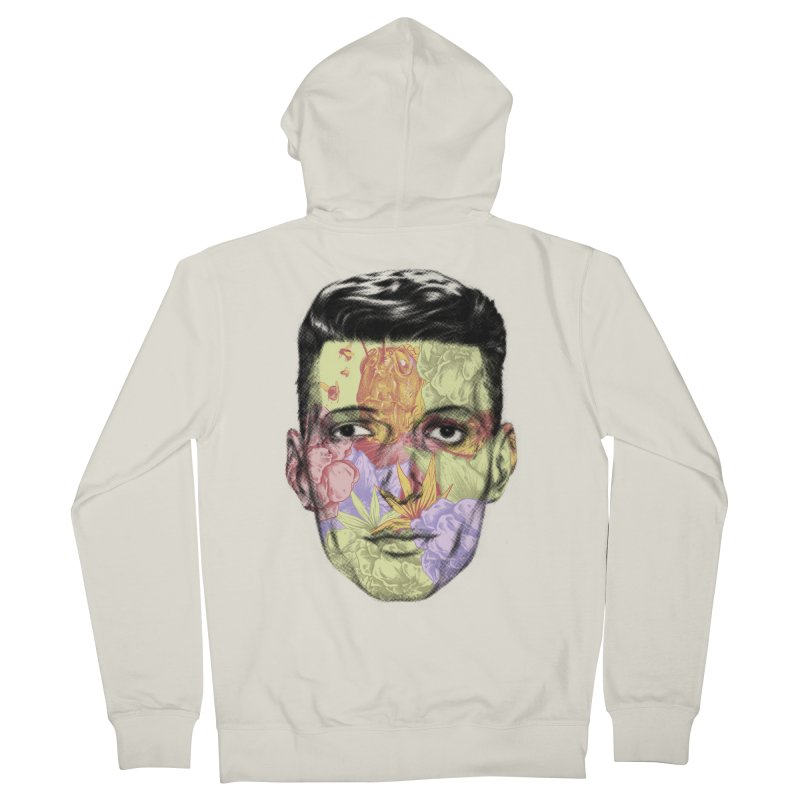 Mescalina Men's Zip-Up Hoody by hafaell's Artist Shop