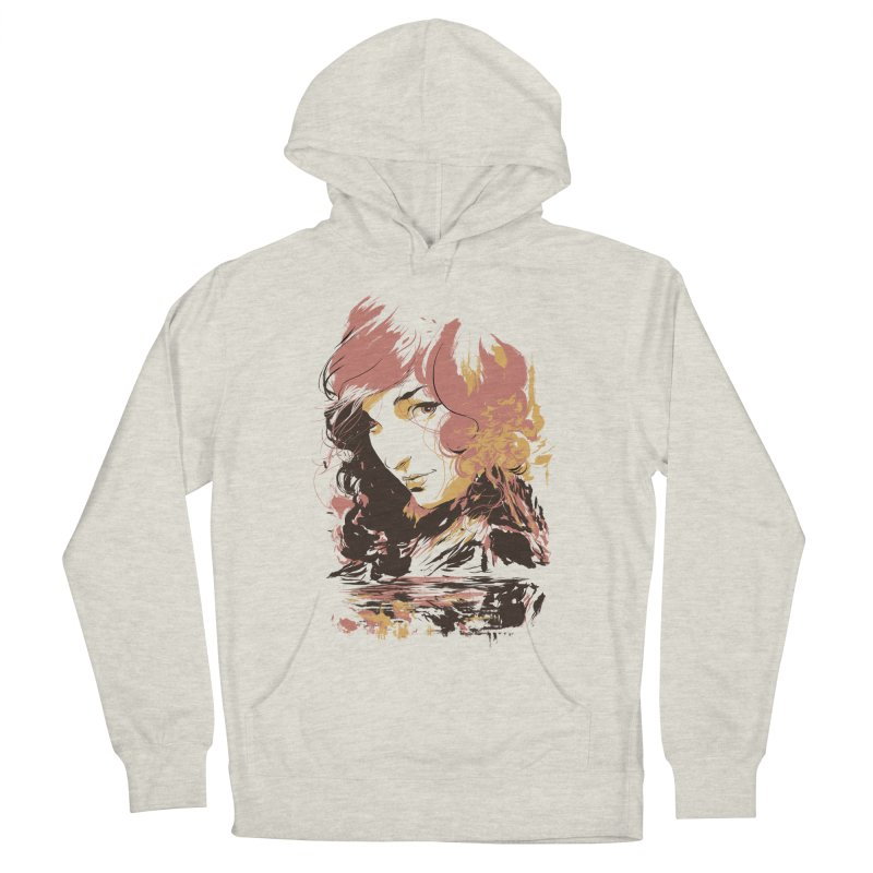 Volcanic Heat Men's Pullover Hoody by hafaell's Artist Shop