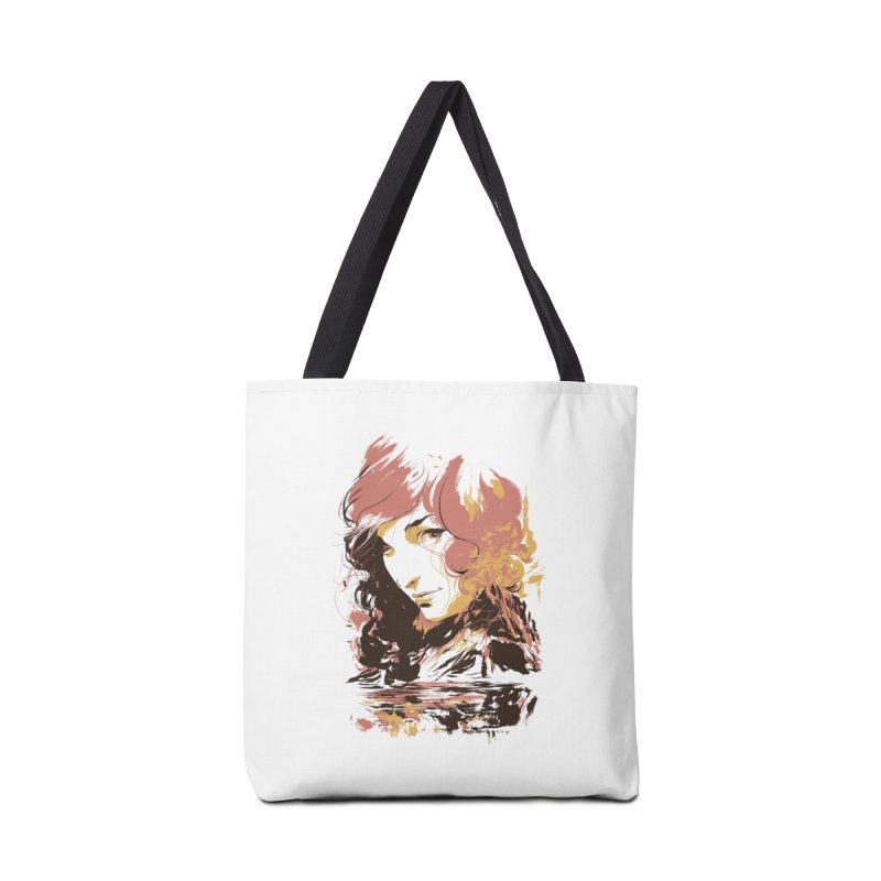 Volcanic Heat Accessories Tote Bag Bag by hafaell's Artist Shop
