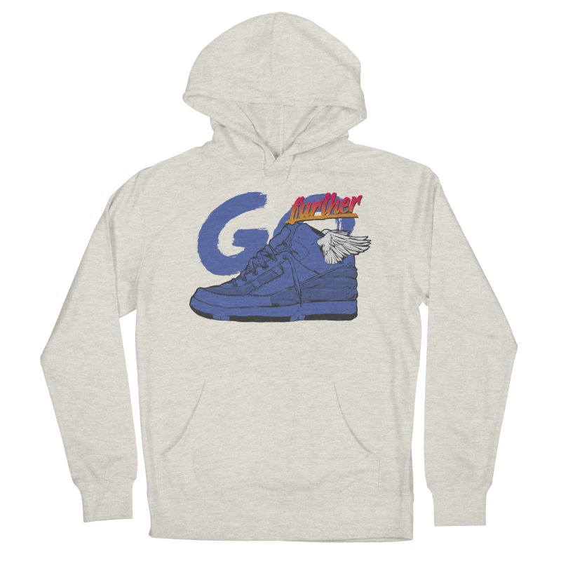 Sneaker Men's French Terry Pullover Hoody by hafaell's Artist Shop