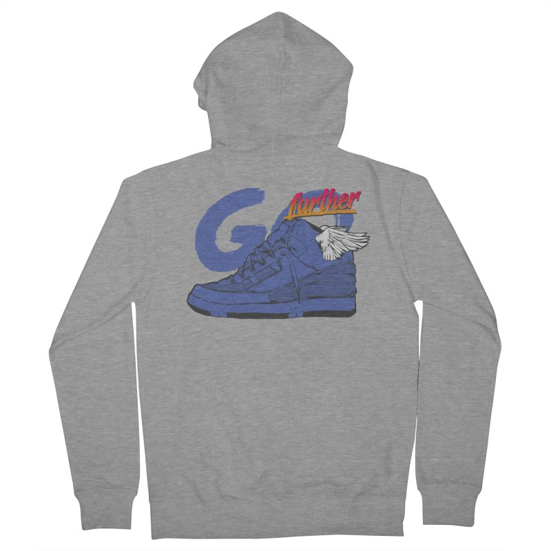 Sneaker Men's French Terry Zip-Up Hoody by hafaell's Artist Shop