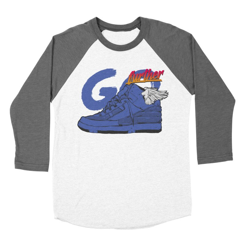 Sneaker Women's Baseball Triblend T-Shirt by hafaell's Artist Shop