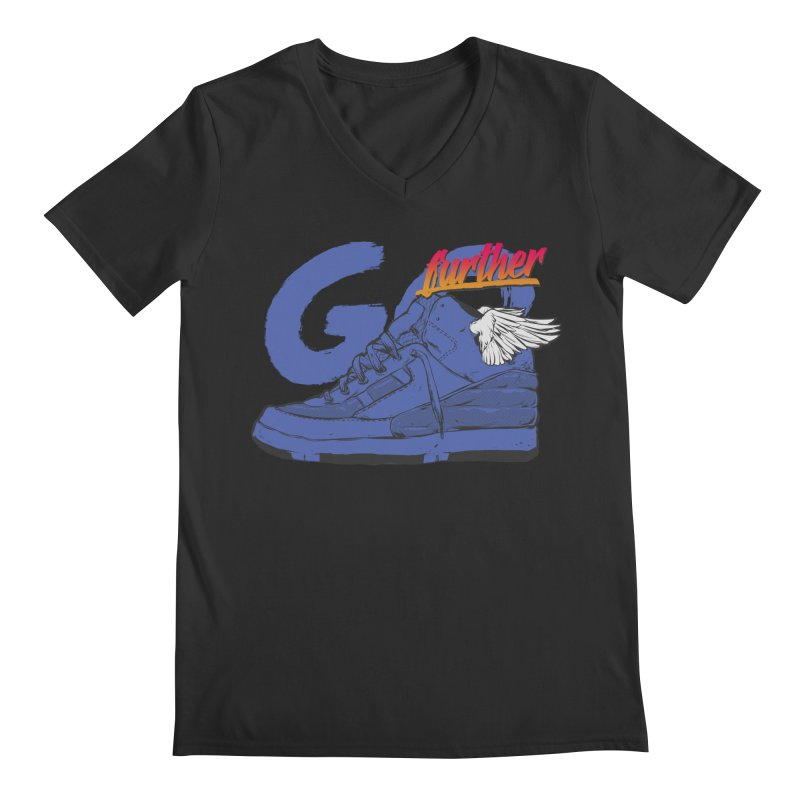 Sneaker Men's Regular V-Neck by hafaell's Artist Shop