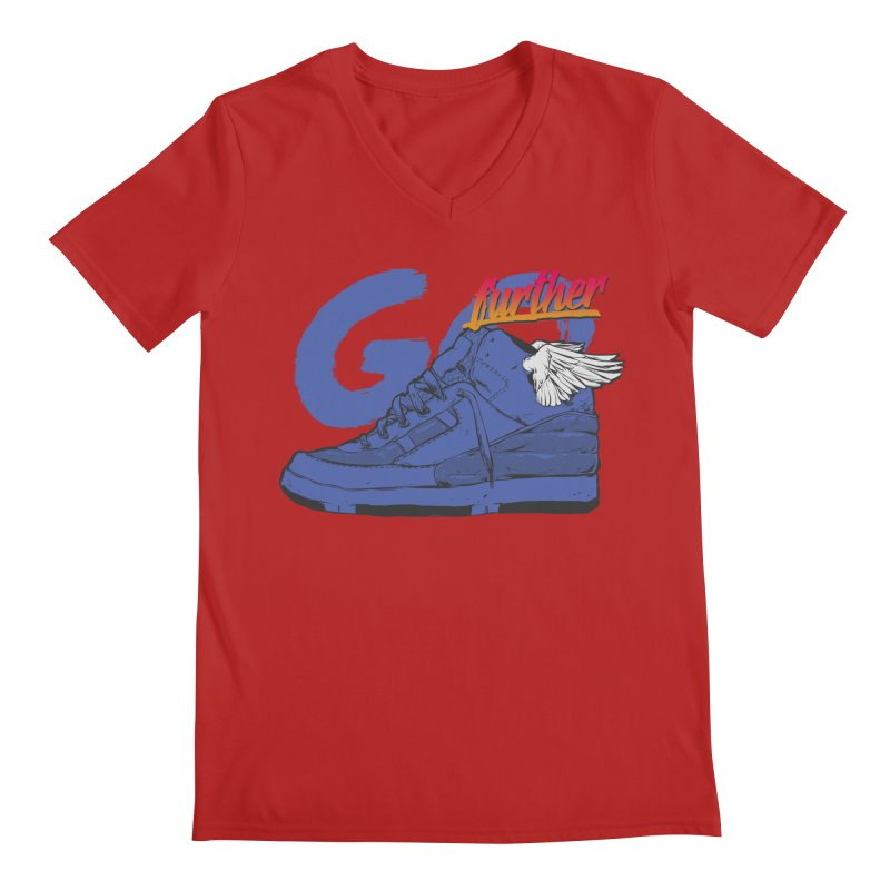 Sneaker Men's V-Neck by hafaell's Artist Shop