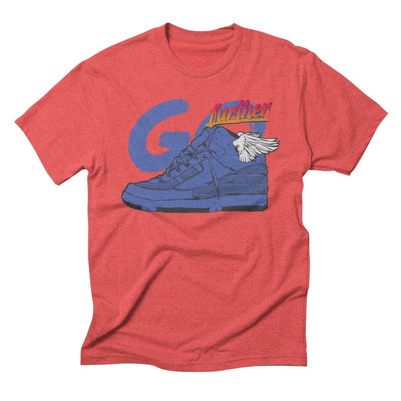Sneaker Men's Triblend T-shirt by hafaell's Artist Shop