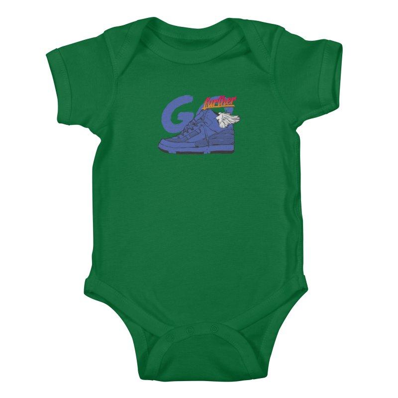 Sneaker Kids Baby Bodysuit by hafaell's Artist Shop