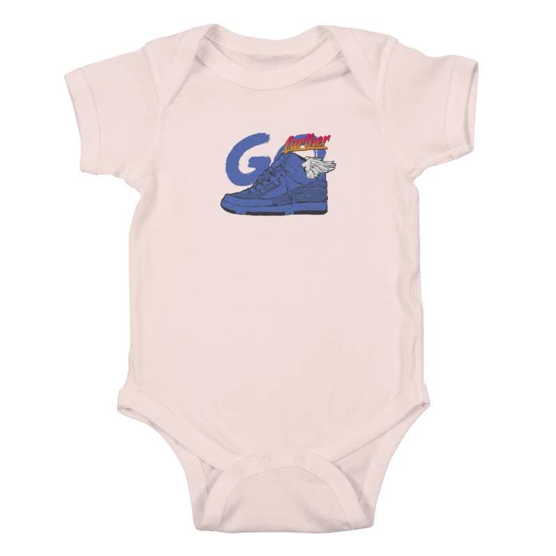 Sneaker Kids Baby Bodysuit by hafaell's Artist Shop