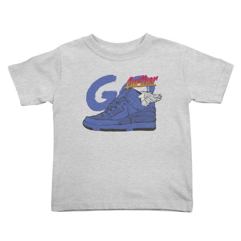 Sneaker Kids Toddler T-Shirt by hafaell's Artist Shop