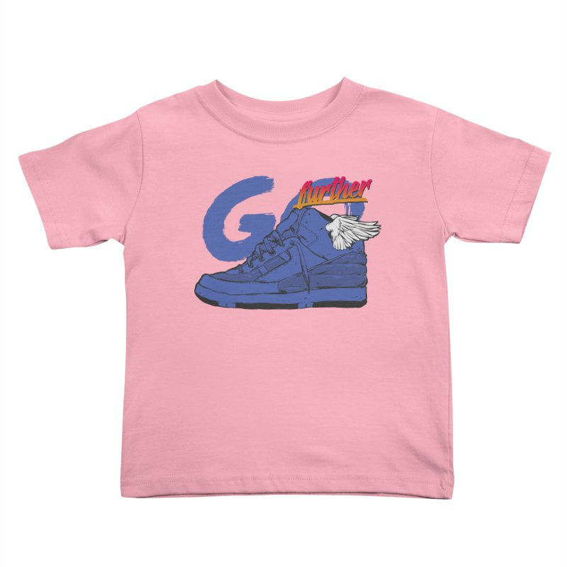 Sneaker Kids Toddler T-Shirt by hafaell's Artist Shop