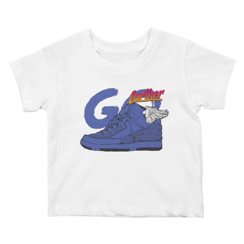 Sneaker Kids Baby T-Shirt by hafaell's Artist Shop