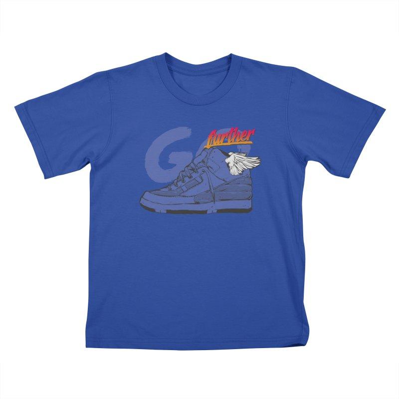Sneaker Kids T-Shirt by hafaell's Artist Shop