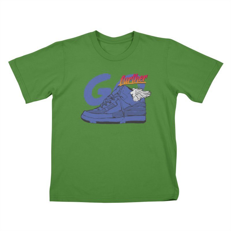 Sneaker Kids T-shirt by hafaell's Artist Shop