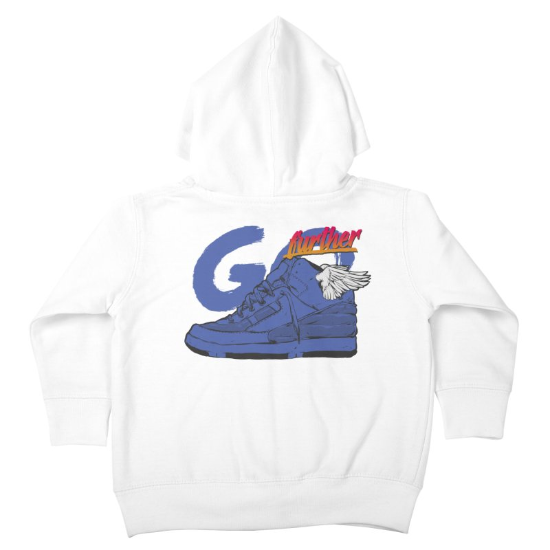 Sneaker Kids Toddler Zip-Up Hoody by hafaell's Artist Shop