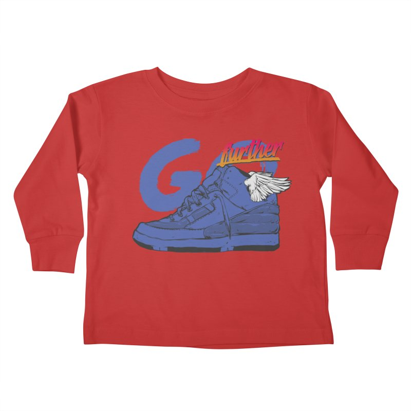 Sneaker Kids Toddler Longsleeve T-Shirt by hafaell's Artist Shop