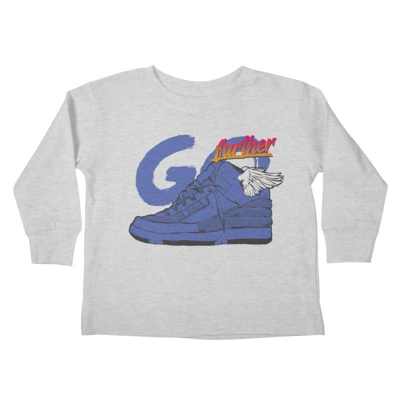 Sneaker Kids Toddler Longsleeve T-Shirt by hafaell's Artist Shop