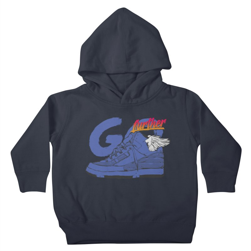 Sneaker Kids Toddler Pullover Hoody by hafaell's Artist Shop