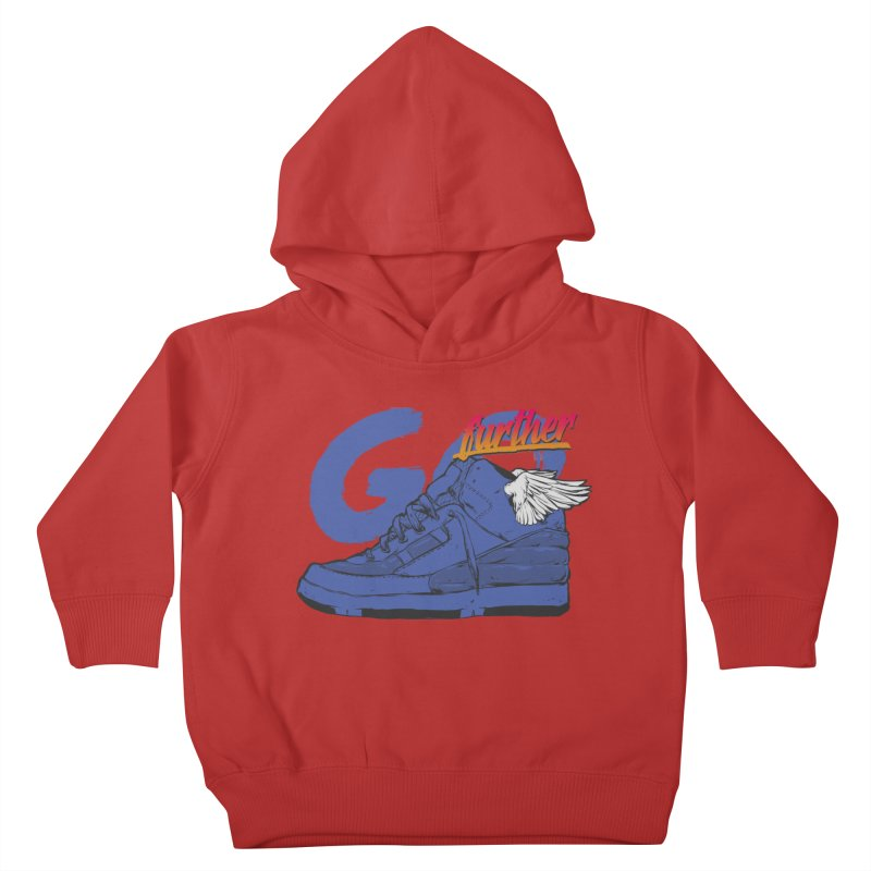 Sneaker Kids Toddler Pullover Hoody by hafaell's Artist Shop