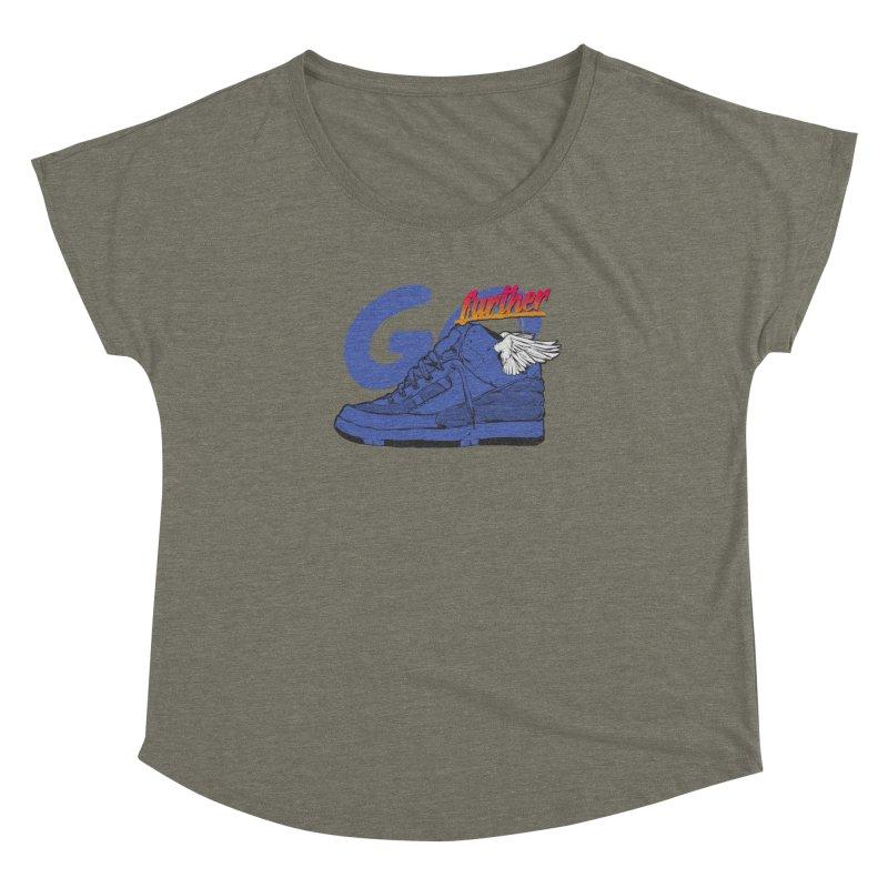 Sneaker Women's Dolman Scoop Neck by hafaell's Artist Shop