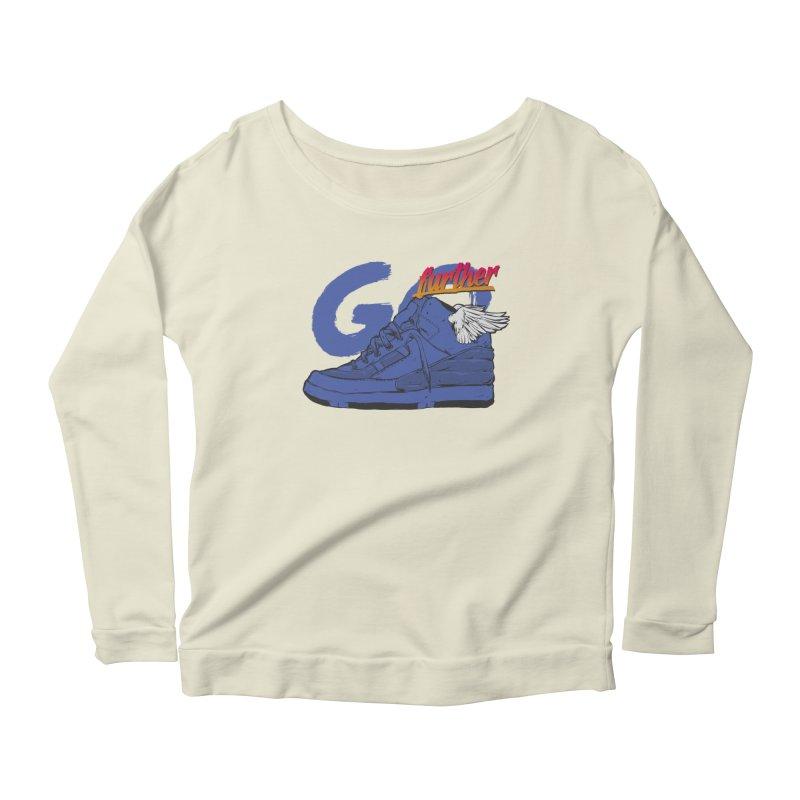Sneaker Women's Scoop Neck Longsleeve T-Shirt by hafaell's Artist Shop