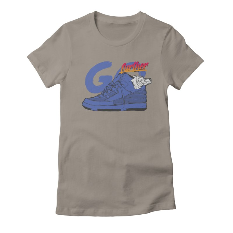 Sneaker Women's Fitted T-Shirt by hafaell's Artist Shop
