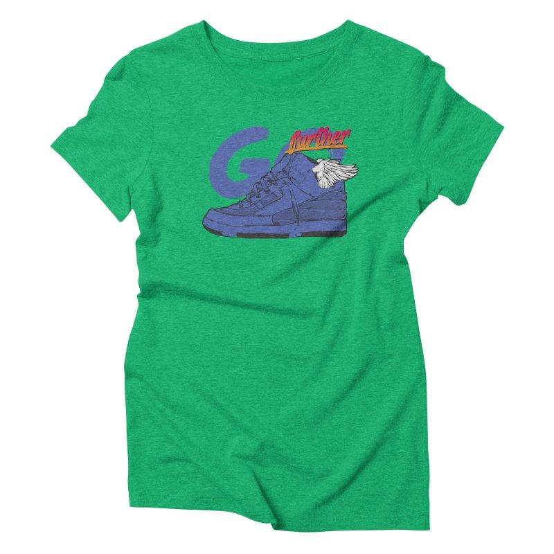 Sneaker Women's Triblend T-shirt by hafaell's Artist Shop
