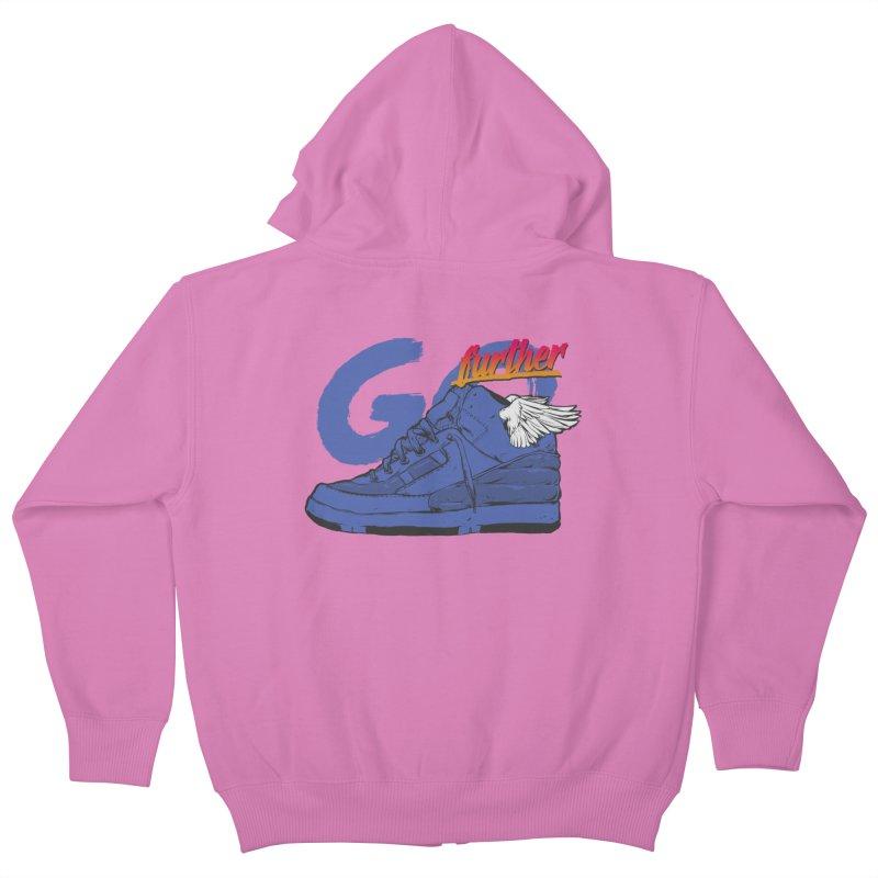 Sneaker Kids Zip-Up Hoody by hafaell's Artist Shop