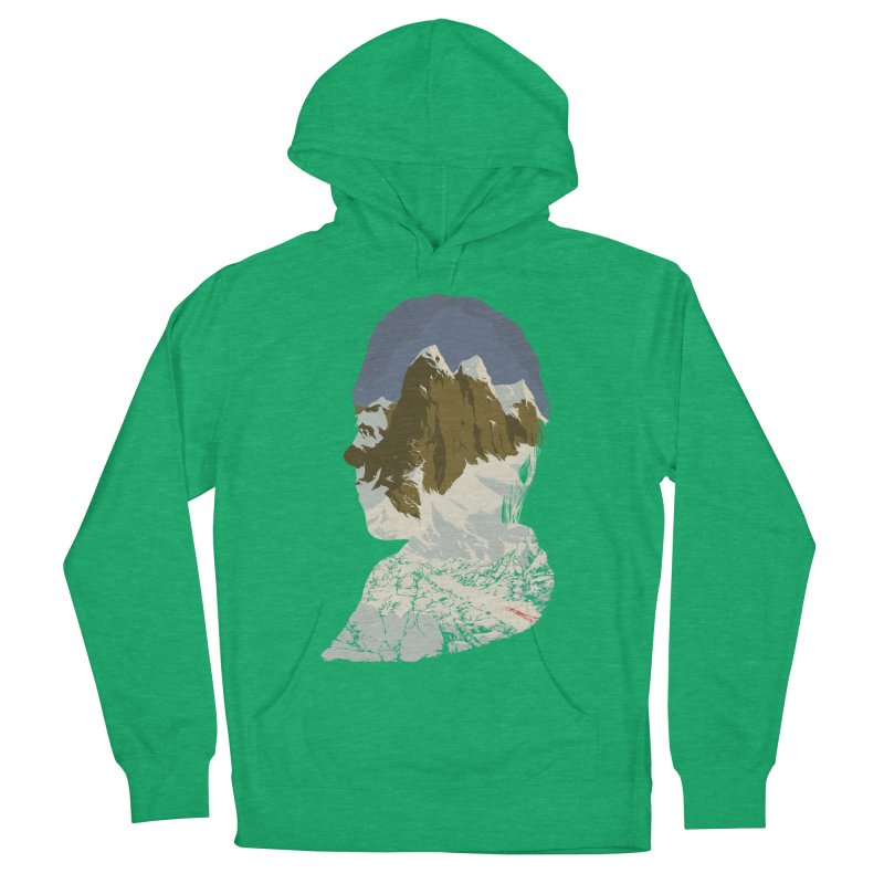 Live and Let Die Men's French Terry Pullover Hoody by hafaell's Artist Shop