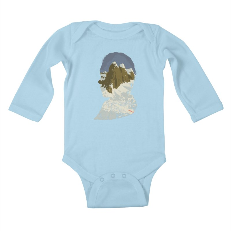Live and Let Die Kids Baby Longsleeve Bodysuit by hafaell's Artist Shop