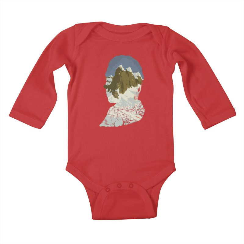 Live and Let Die Kids Baby Longsleeve Bodysuit by hafaell's Artist Shop