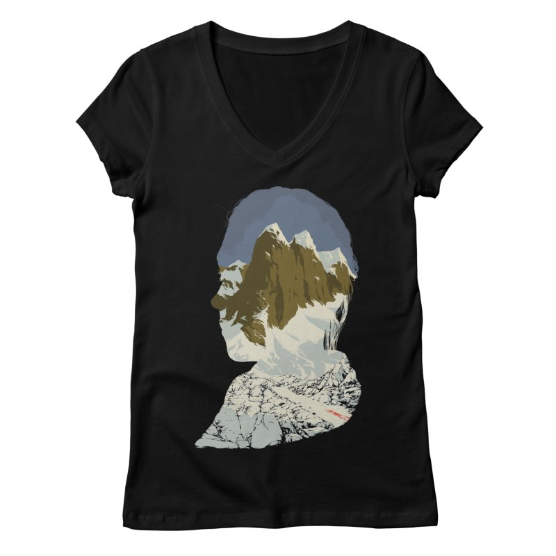 Live and Let Die Women's V-Neck by hafaell's Artist Shop