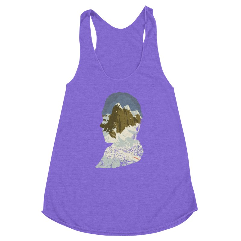 Live and Let Die Women's Racerback Triblend Tank by hafaell's Artist Shop