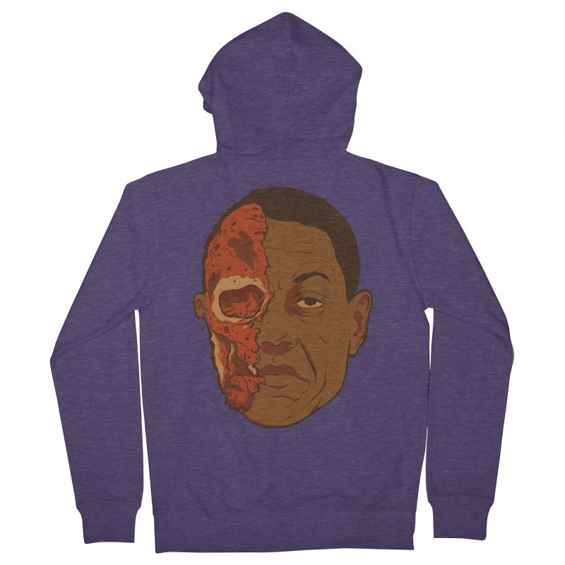 disGUSting Men's French Terry Zip-Up Hoody by hafaell's Artist Shop