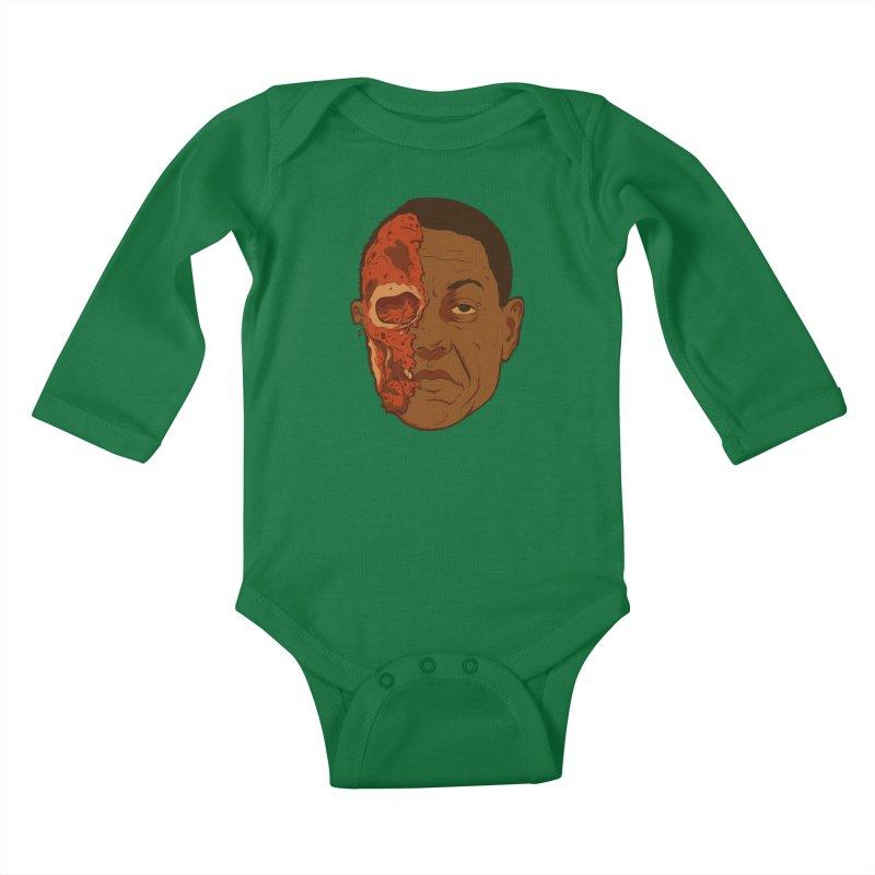 disGUSting Kids Baby Longsleeve Bodysuit by hafaell's Artist Shop