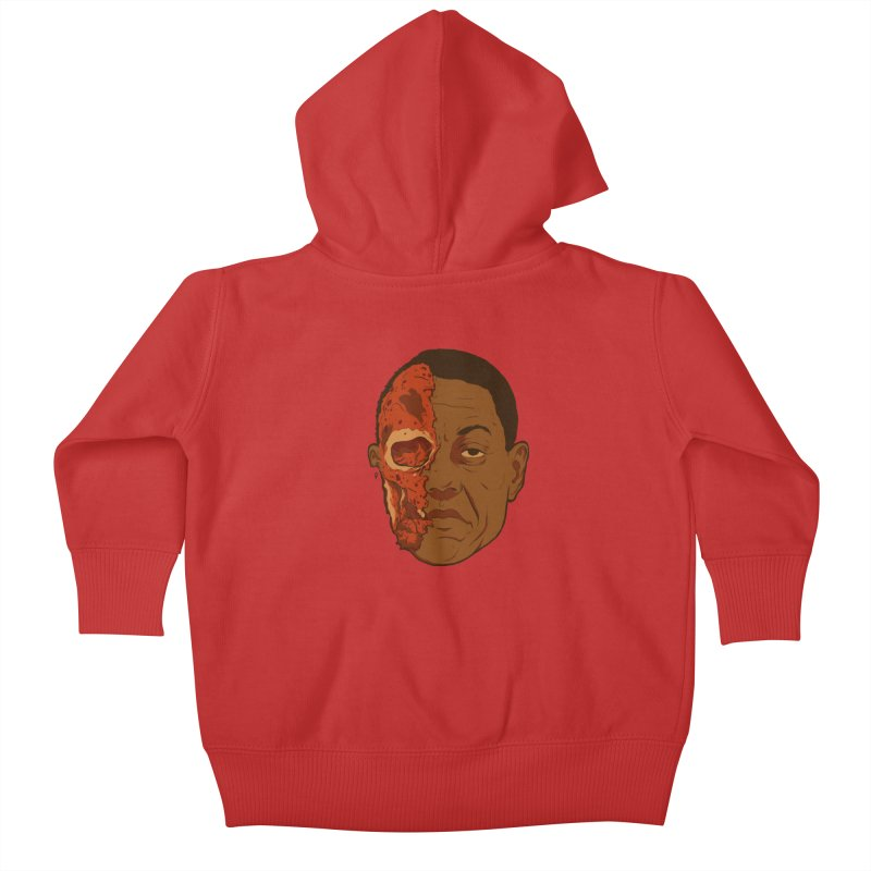 disGUSting Kids Baby Zip-Up Hoody by hafaell's Artist Shop