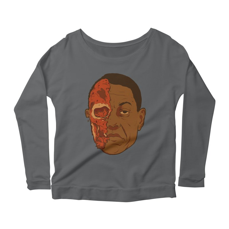 disGUSting Women's Scoop Neck Longsleeve T-Shirt by hafaell's Artist Shop
