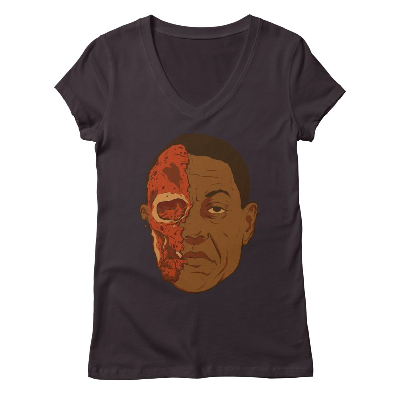 disGUSting Women's Regular V-Neck by hafaell's Artist Shop
