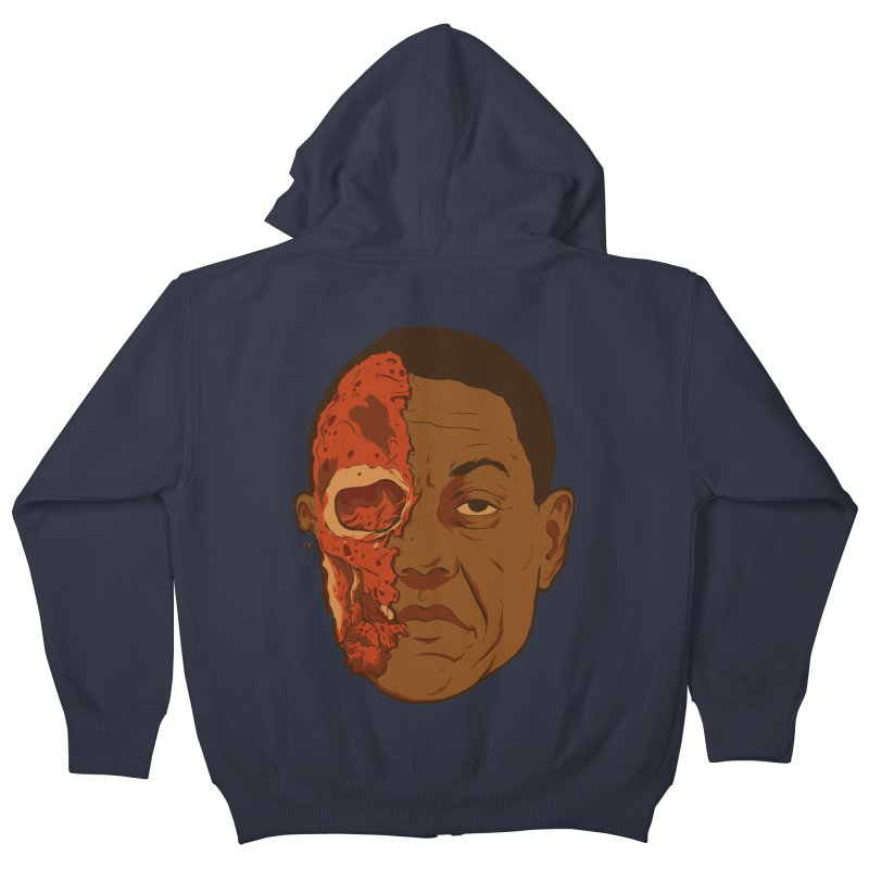 disGUSting Kids Zip-Up Hoody by hafaell's Artist Shop