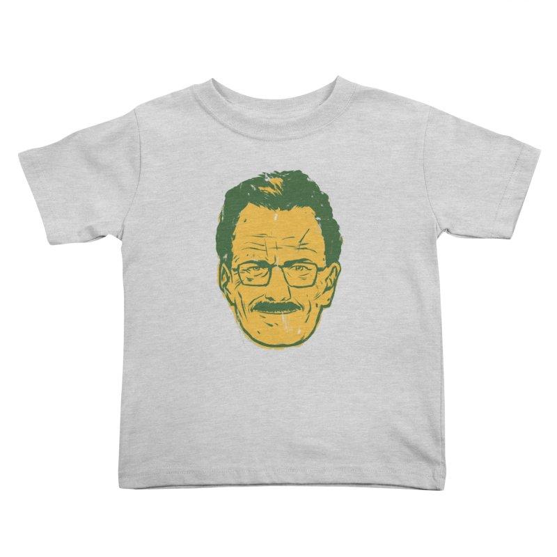 Mr. White Kids Toddler T-Shirt by hafaell's Artist Shop