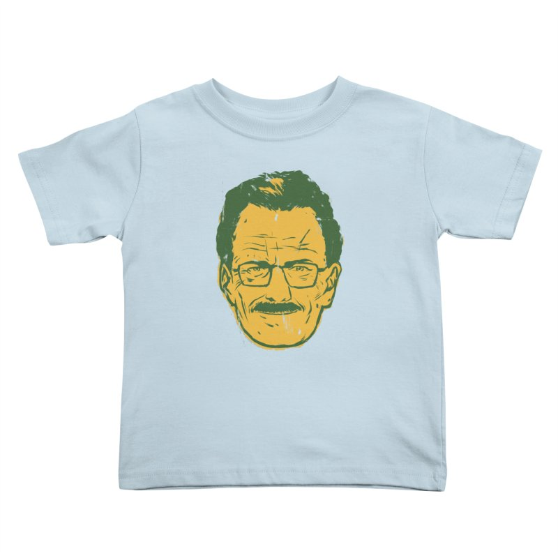 Mr. White Kids Toddler T-Shirt by hafaell's Artist Shop
