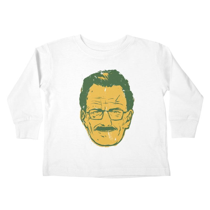 Mr. White Kids Toddler Longsleeve T-Shirt by hafaell's Artist Shop