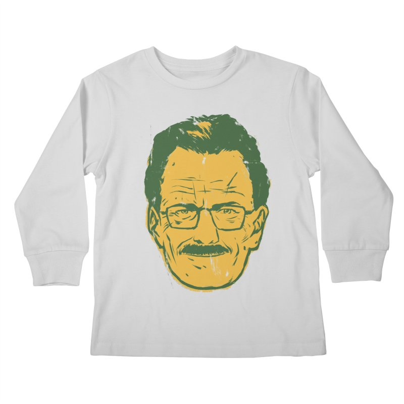 Mr. White Kids Longsleeve T-Shirt by hafaell's Artist Shop