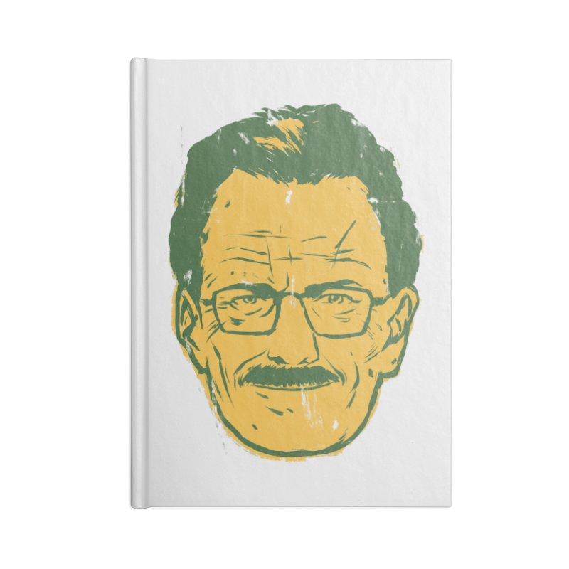 Mr. White Accessories Blank Journal Notebook by hafaell's Artist Shop
