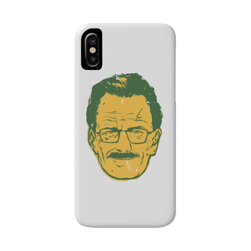 Mr. White Accessories Phone Case by hafaell's Artist Shop