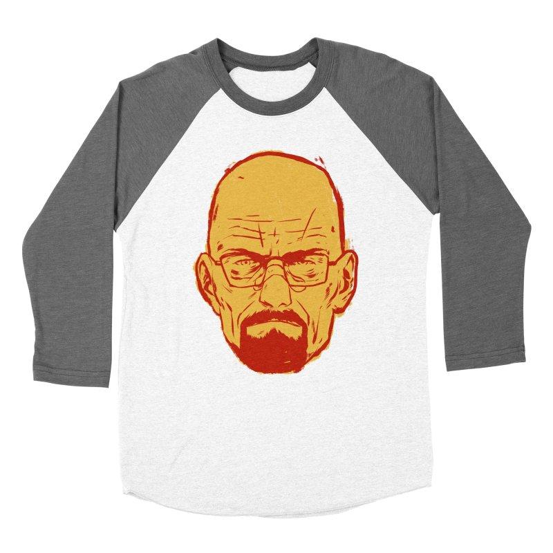 Heinsenberg Men's Baseball Triblend Longsleeve T-Shirt by hafaell's Artist Shop