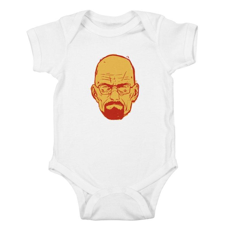 Heinsenberg Kids Baby Bodysuit by hafaell's Artist Shop