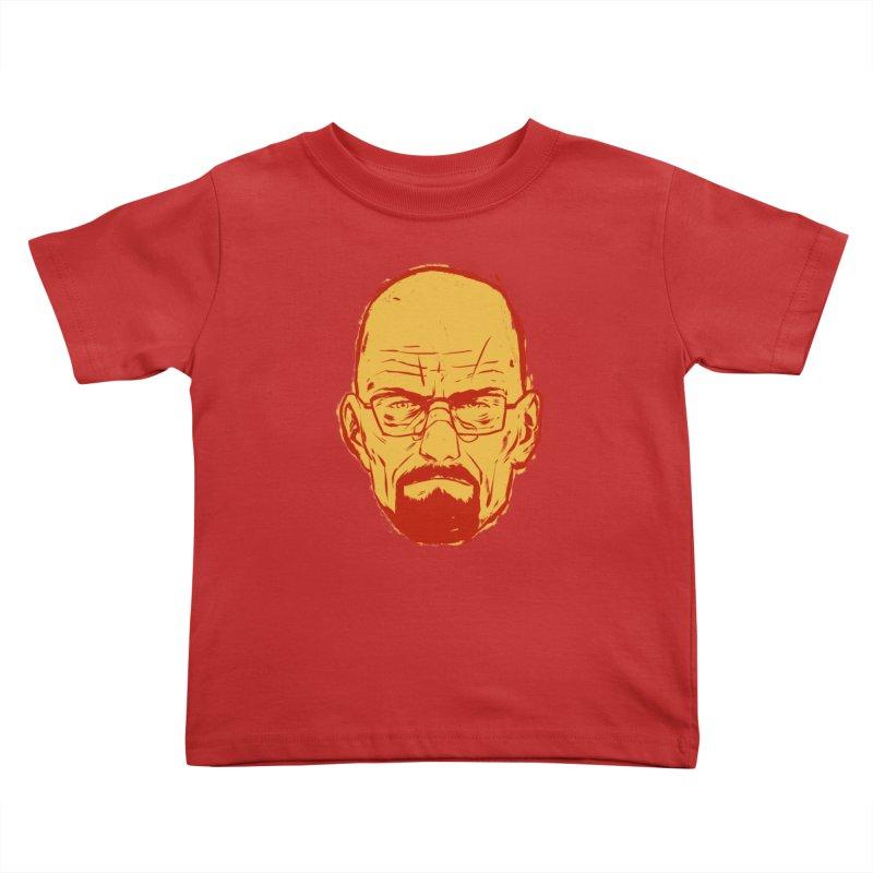 Heinsenberg Kids Toddler T-Shirt by hafaell's Artist Shop