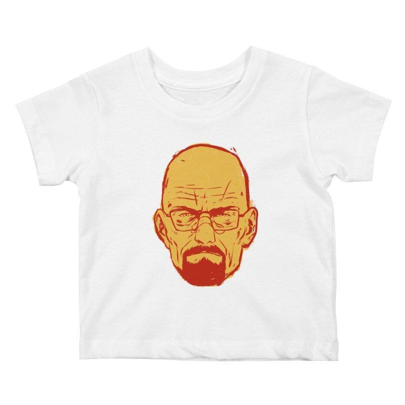 Heinsenberg Kids Baby T-Shirt by hafaell's Artist Shop